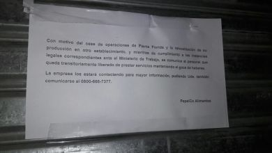 Photo of Cerró la fábrica de Pepsico en Vicente López dejando 600 trabajadores en la calle