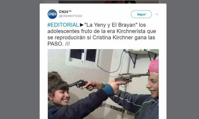 Photo of Increíble publicación de un portal de noticias: «Los adolescentes fruto de la era Kirchnerista se reproducirán si Cristina gana las PASO»