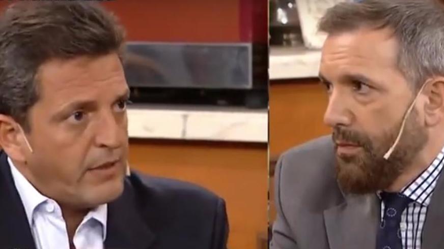 """Durísimo cruce entre Massa y Pablo Duggan: """"Sos un mentiroso"""""""
