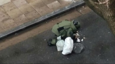 Photo of Encontraron dos bombas frente al cuartel general de la Policía Federal