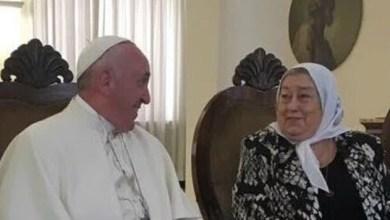 Photo of Hebe recibió una carta del Papa: «No hay que tener miedo»