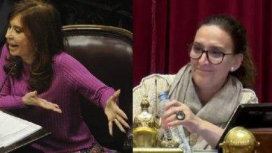 Photo of Cristina chicaneó a Michetti de lo lindo