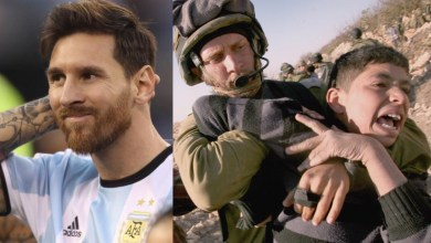 Photo of Niños palestinos le ruegan a Messi que no juegue en Israel