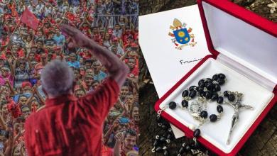 Photo of El Papa le mandó un rosario a Lula