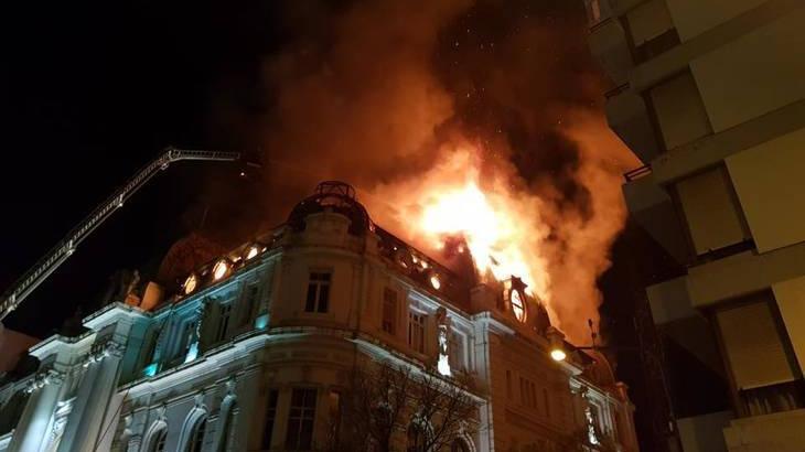 Photo of APORTES TRUCHOS: se incendió sede del Banco Nación donde había documentación