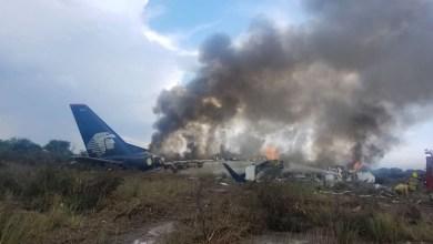 Photo of Se desplomó avión de Aeroméxico
