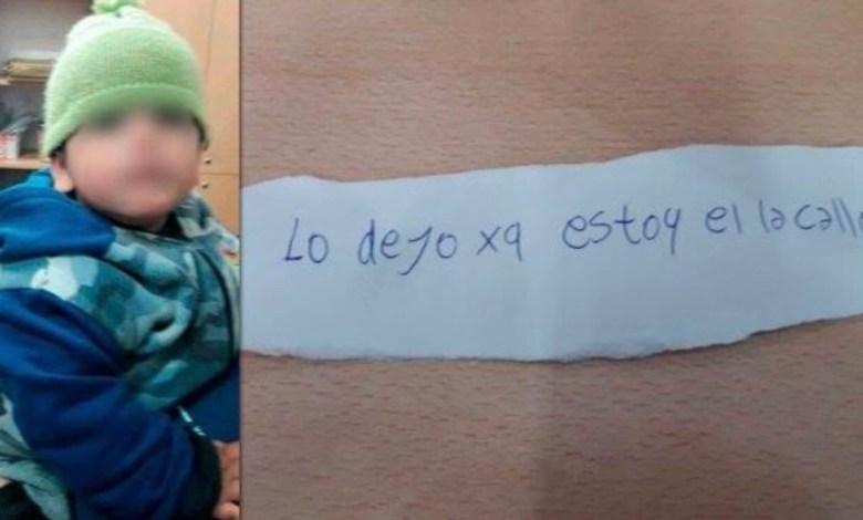 Photo of CRISIS SOCIAL: abandonan a nene de año y medio en la vereda