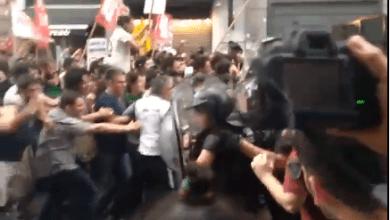 Photo of Tensión e incidentes frente a la Legislatura Porteña