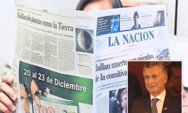 Photo of El increíble titular de LA NACIÓN por el llanto de Macri