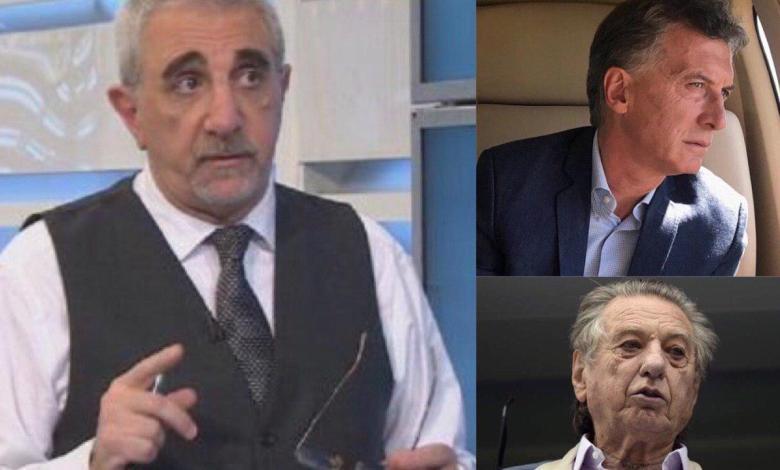 El periodista Ricardo Canaletti tomó por sorpresa a los espectadores de la señal oficialista Todo Noticias, al emitir un inesperado comentario al aire cuando se trataba la noticia de la muerte del empresario Franco Macri, padre del Presidente de la Nación.