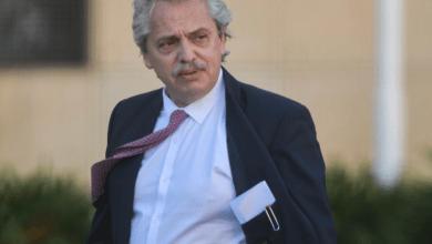 El precandidato a presidente Alberto Fernández se encuentra en el Hospital Otamendi realizándose chequeos médicos.