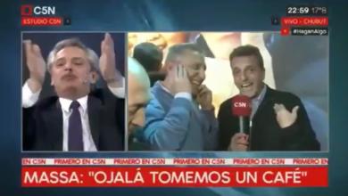 Photo of Sugerente cruce televisivo entre Alberto Fernández y Sergio Massa