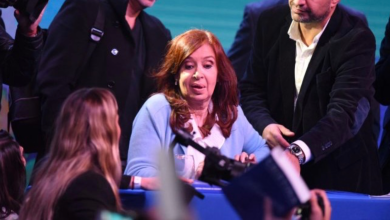 "Photo of Cristina Kirchner: ""Hoy ya estamos igual que Venezuela"""