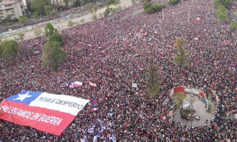 Photo of Lunes de marchas y protestas en Chile