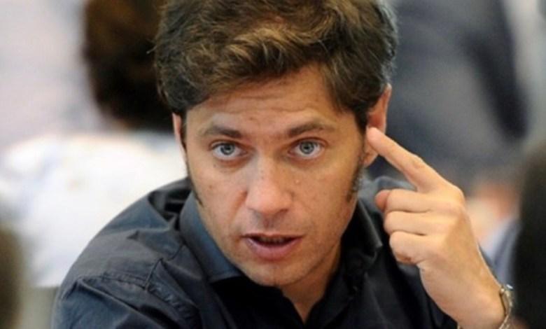 """Photo of Axel Kicillof: """"Este Gobernador no va a aceptar extorsiones"""""""