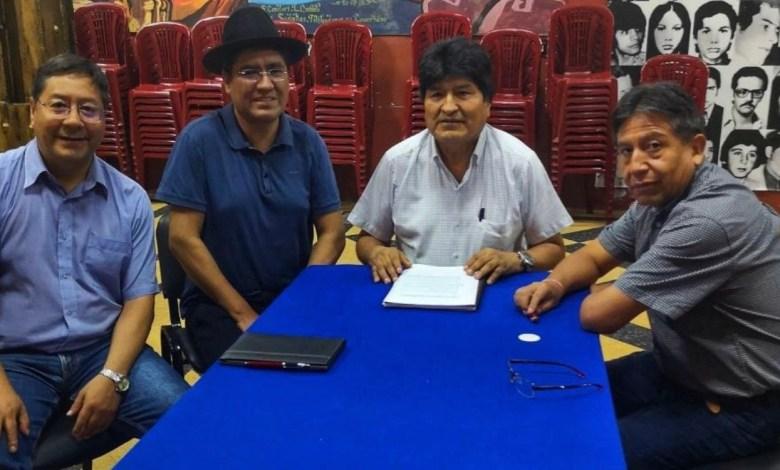 Photo of El MAS firma acuerdo de unidad desde Buenos Aires