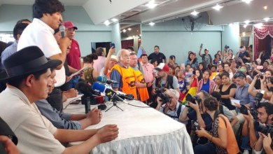 Photo of Evo Morales acaba de anunciar la fórmula del MAS