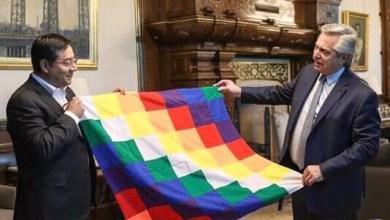 Photo of Alberto Fernández recibió a Luis Arce, candidato a presidente del MAS