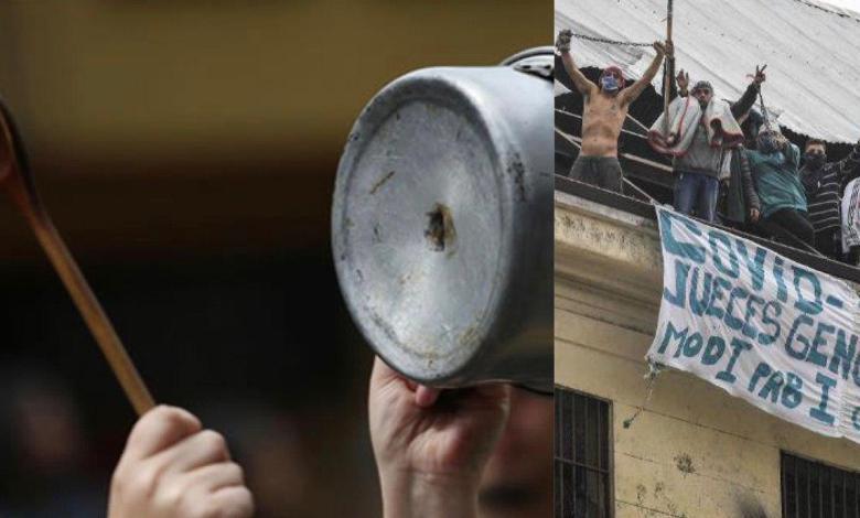 Photo of Masivos cacerolazos contra la liberación de presos en la Argentina