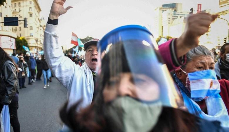 El pleno pico de la pandemia el macrismo organiza nuevas marchas anti-cuarentena