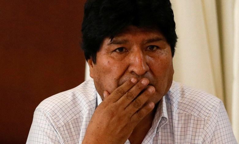 """Fuerte denuncia de Evo Morales: """"Se gesta un nuevo golpe de Estado en Bolivia"""""""
