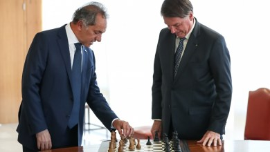 Photo of Bolsonaro recibió a Scioli, embajador argentino en Brasil, e inició la relación con Fernández