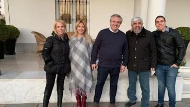 Photo of En Olivos, Alberto Fernández y Hugo Moyano trataron las paritarias de Camioneros