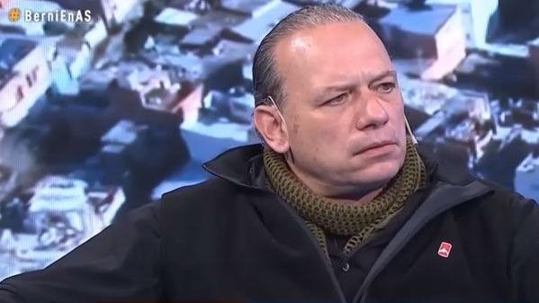 """Sergio Berni: """"Al virus en mi le quedan las horas contadas"""""""