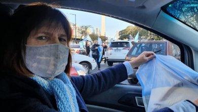 Photo of Recuperada de coronavirus, Bullrich alentó otro banderazo anticuarentena