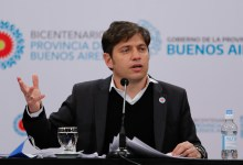 """Photo of ¿""""Barones"""" o """"varones""""? Kicillof aclaró, le pegó a Clarín y expuso a Macri"""