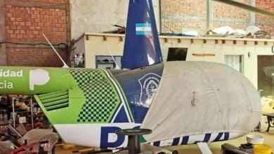 Photo of Apareció en Paraguay un helicóptero de la Policía Bonaerense de Vidal