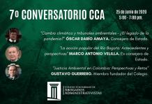 Marco Antonio Velilla, Gustavo Adolfo Guerrero Ruiz y el Dr. Oscar Darío Amaya