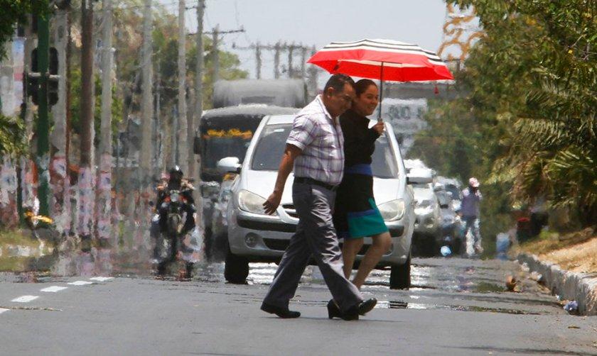 Altas temperaturas en León - Nicaragua
