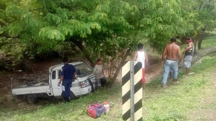 Cuatro lesionados en accidente de tránsito en Chinandega