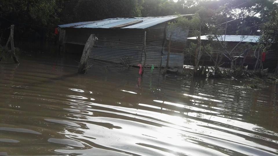 Tormenta tropical Nate dejó centenas de familias afectadas en León