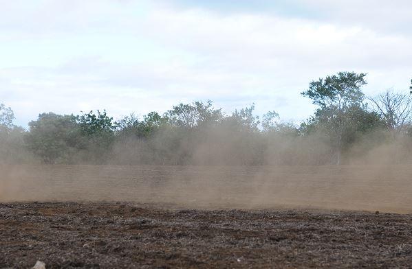 Vientos y polvo en León, Nicaragua