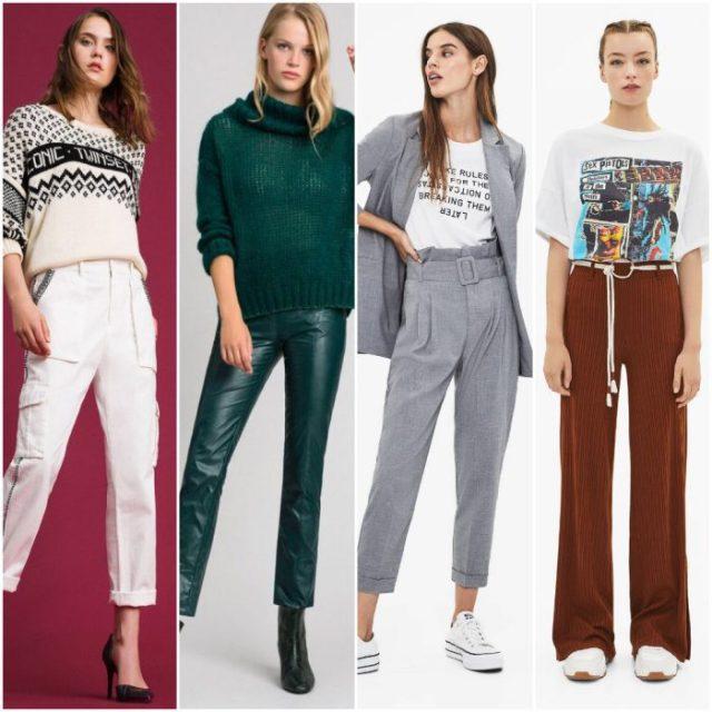 pantalones para mujer de moca invierno 2020