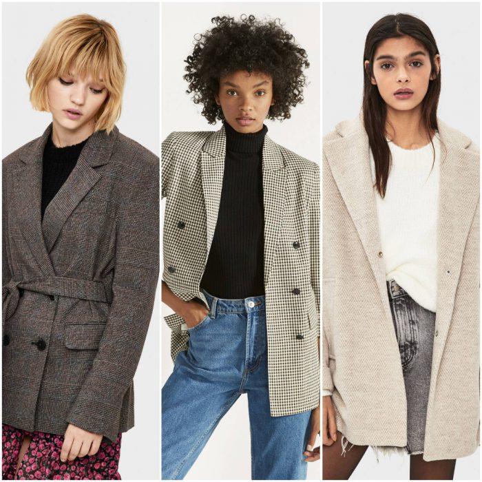 sacos y tapados para mujer de moda invierno 2020