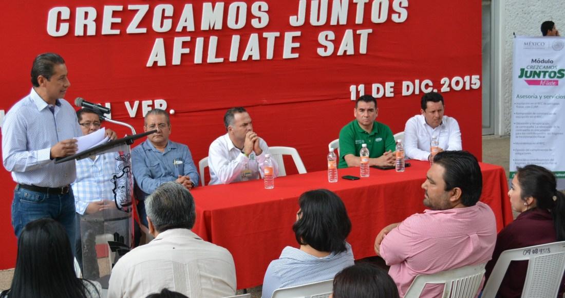 Iunstalan Módulo Permanente Del Sat En Minatitlán Agencia
