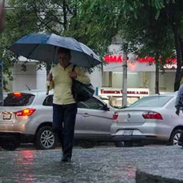 Se registrará bajo potencial de lluvias en gran parte del país