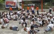 Escuelas de Chiapas deben realizar mínimo tres simulacros al año, informa Protección Civil