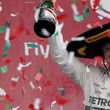 Rosberg, campeón del GP de México; 'Checo' termina octavo