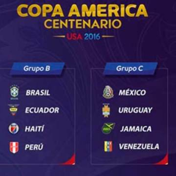 Debut ante los 'charrúas'; el Tri iniciará Copa América frente a Uruguay