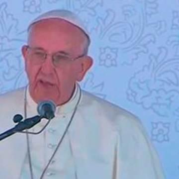 Papa reconoce apoyo de mexicanos a Caravana Migrante
