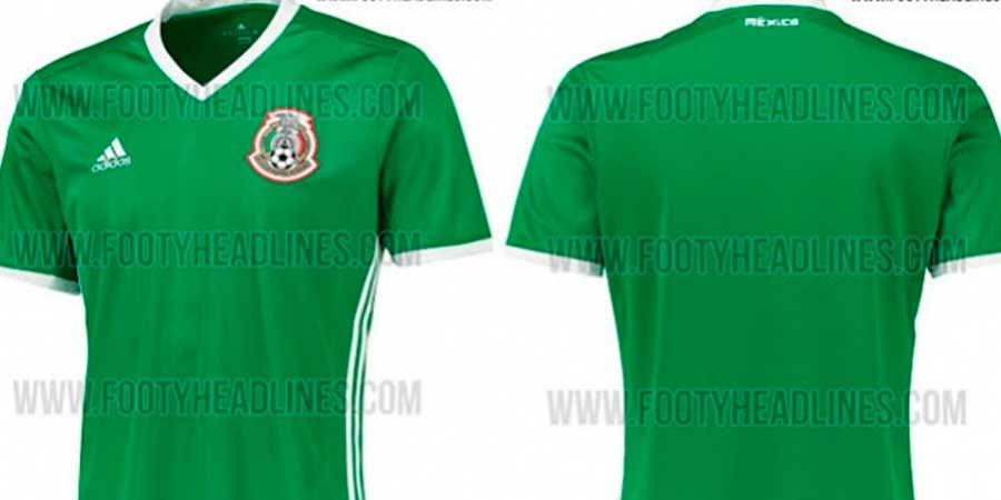 Volvería el verde; revelan posible uniforme del Tri para Copa América