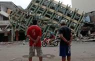 Seis días después del terremoto, sigue aumentando número de muertos en Ecuador