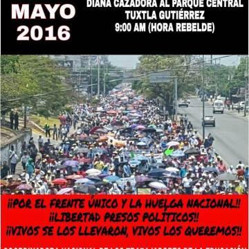 Colegiado de padres de familias se sumarán a la marcha de este 1 de mayo