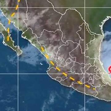 Emiten alerta roja por «Danielle» en Veracruz