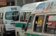 Transportistas marchan en apoyo al diálogo de la Segob  y CNTE