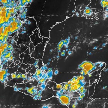 Lluvias con tormentas de fuertes a muy fuertes se prevén esta noche en 15 entidades de México